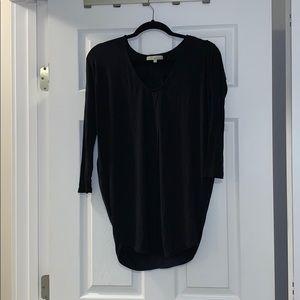Black baggy top